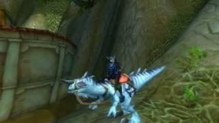 Tiny : The Ivory Raptor   The new Scourgewar WOW:TCG loot card)