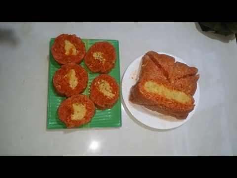 Cách làm bánh chưng gấc luộc 1 tiếng là chín!