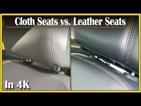 Leather Seats vs. Cloth Seats | Did You Know? Segment: Episode 7  -  In 4k UHD!