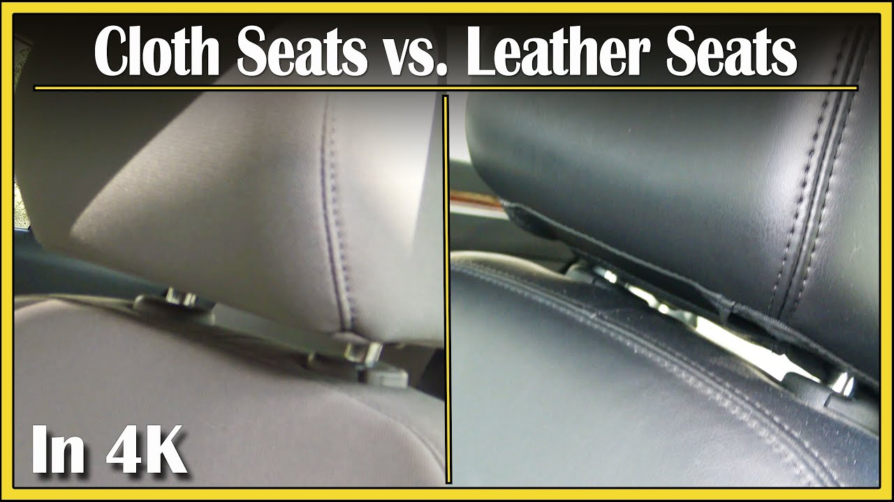 leather seats vs cloth seats did you know segment episode 7 in 4k uhd youtube. Black Bedroom Furniture Sets. Home Design Ideas