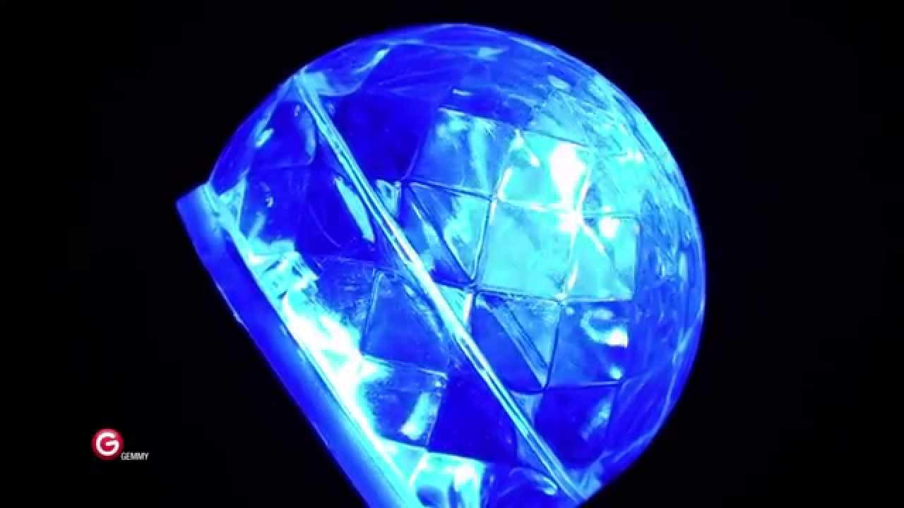 LightShow 10.24 in. Blue Projection Kaleidoscope Spotlight (Gemmy ...