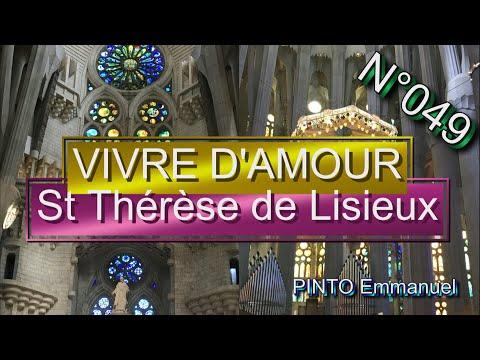 Vivre d'amour - St Thérèse  (chant liturgique) - Karaoké N°49