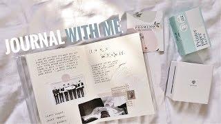 🍰 kpop journal with me '8 // BTS Love myself  (w/ phomemo)