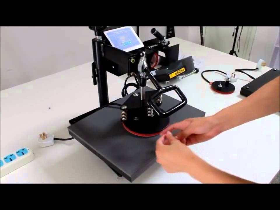 5in1 ASC365 Heat Press Machine Sublimation Transfer wmv 1 ...