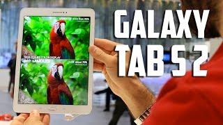 Samsung Galaxy Tab S 2, primeras impresiones