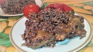 Домашние рецепты. Готовим плов из красного риса и мяса цесарки.