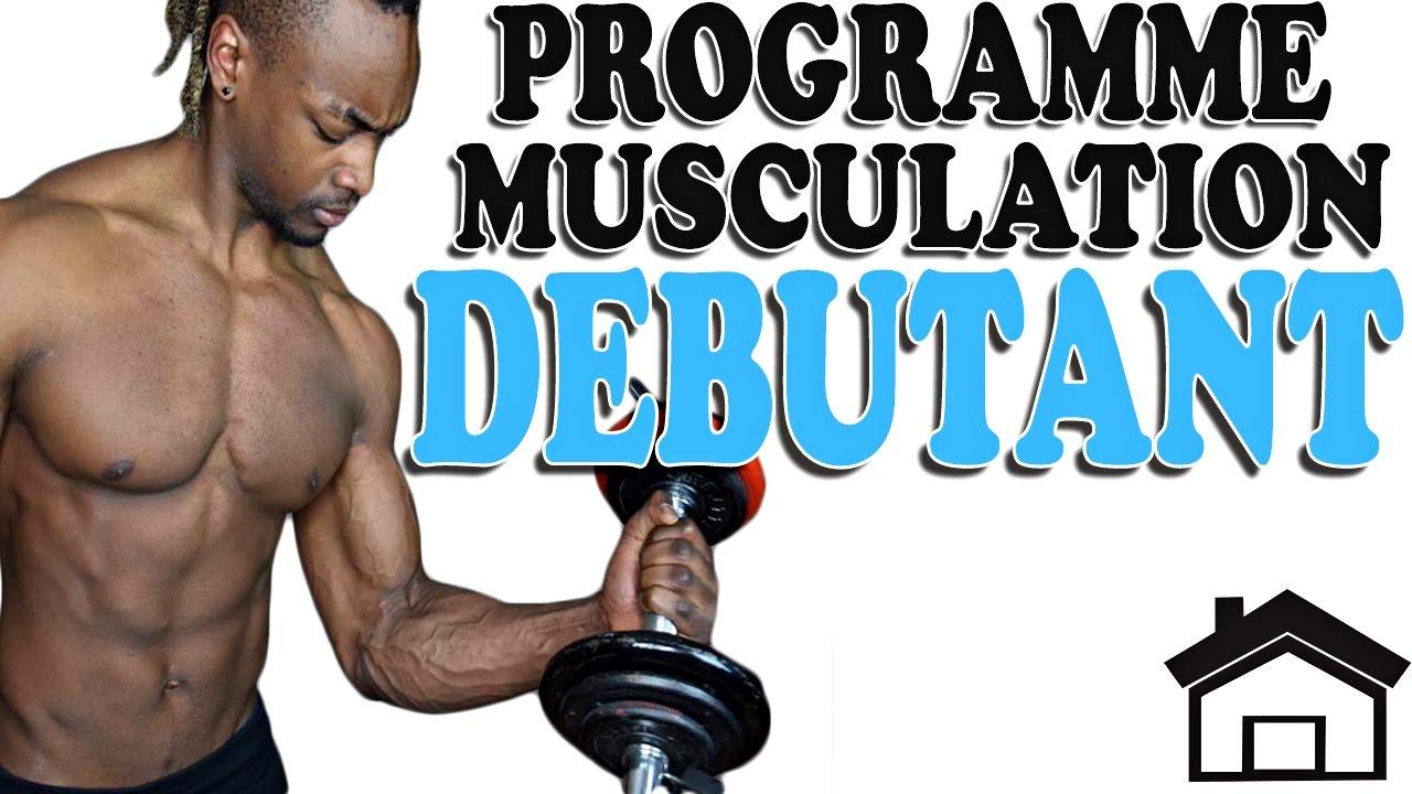 Programme Musculation Maison Debutant Youtube
