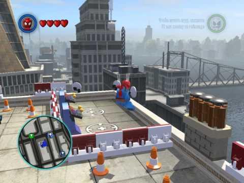 Lego Marvel Superheroes-тук,тук,тук я человек-паук