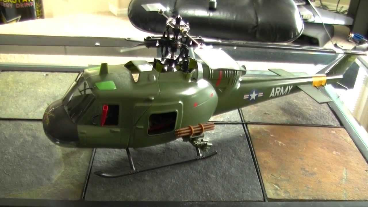 SR UH-1 Huey Gunship - YouTube