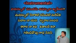 amani paadave haayiga with telugu lyrics