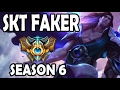 SKT T1 Faker Taric vs Alistar Support Ranked Challenger Korea