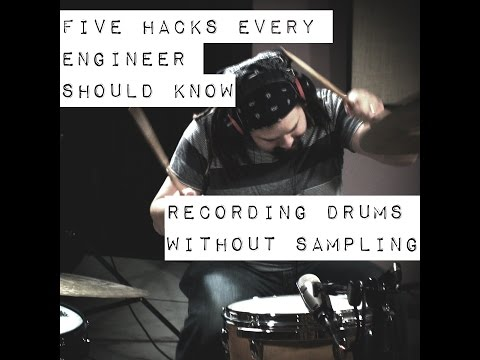 Recording Drums | 5 Easy Hacks to Record Drums Without Sampling