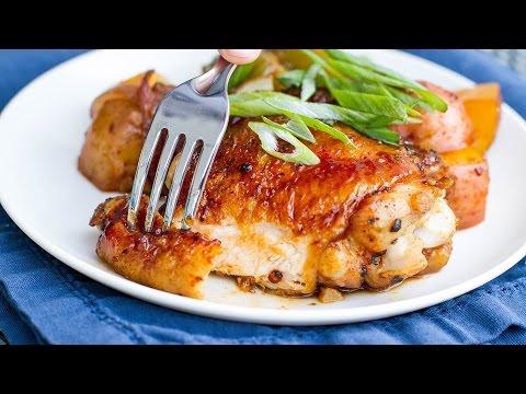 One-Pan Sriracha Chicken And Veggies