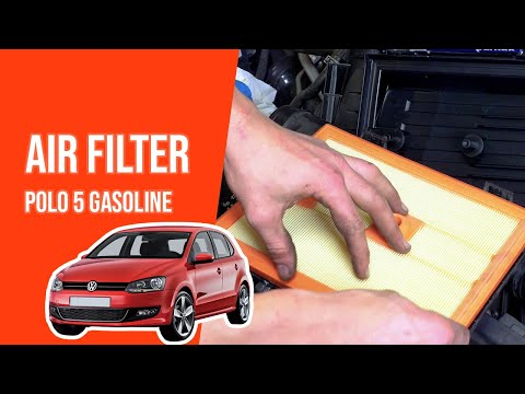 How to replace the air filter POLO 5 1.2 TSI💨