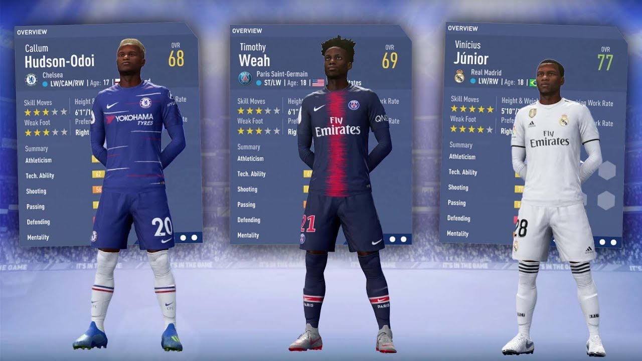 FIFA 19 BEST YOUNG CAREER MODE PLAYERS! - FIFA 19 CAREER MODE - YouTube d1476b5eb