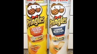 Pringles Food Truck: Kickin' Chicken Taco & Cheese Burger Review