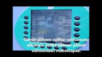 Kertalipunosto HSL:n lippuautomaatista