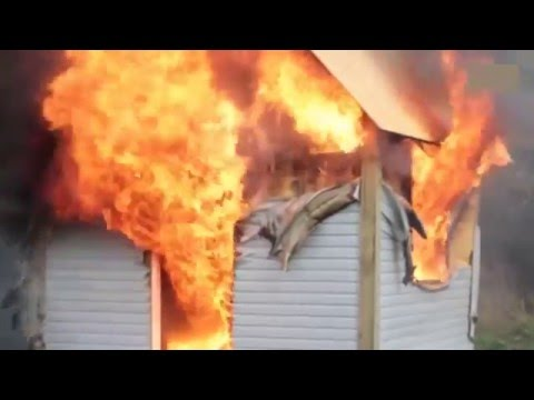 Перевага будинку з СІП панелей перед Каркасним будинком. Пожежна безпечність SIP панелей.
