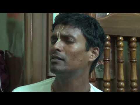 "Rajesh prabhu crying out ""krishna krishna"" in deep voice!,"