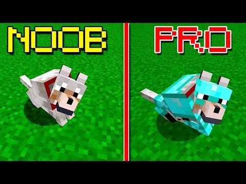 CACHORRO NOOB VS. CACHORRO PRO!! (MINECRAFT) thumbnail