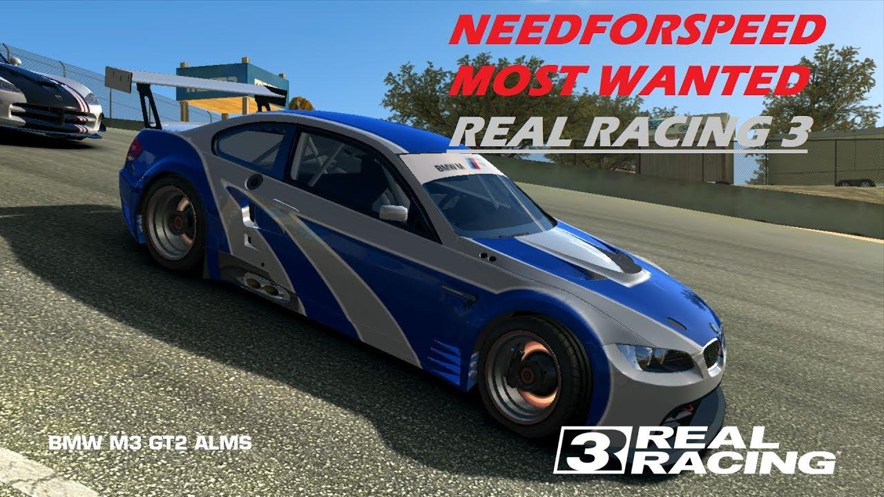 real racing 3bmw m3 gt2 almsmostwanteded youtube