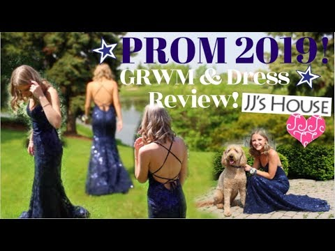 prom-grwm!-+-jj's-house-prom-dress-review!