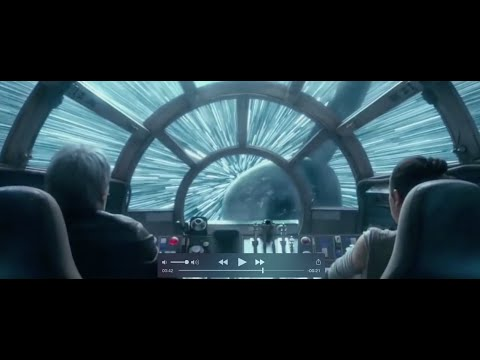 Han Solo and The Rathtars - Star Wars The Force Awakens Clip