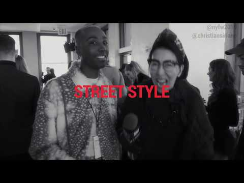 Street Style with the SPECTACULAR Travis Weaver | NYFW 2019