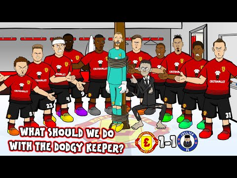 😲De Gea Howler!😲What should Ole do with the dodgy keeper?(Man Utd v Chelsea 1-1 Parody Highlights)