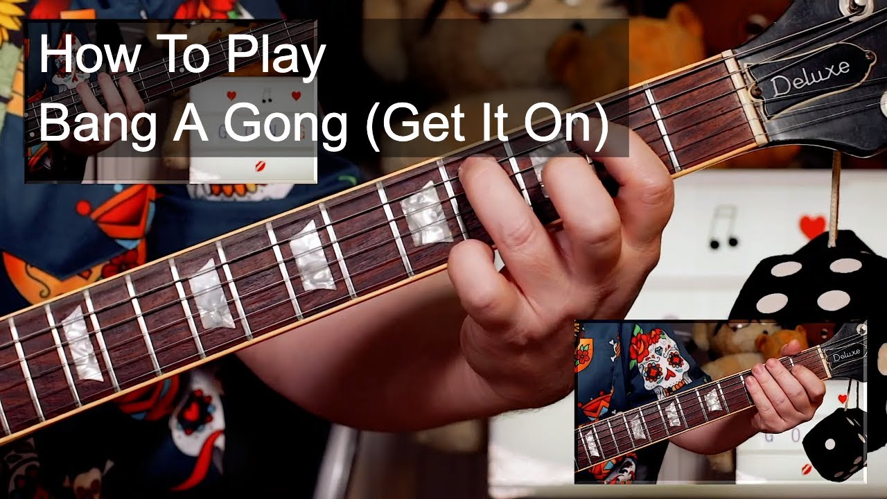 'Bang A Gong (Get It On)' Marc Bolan & T Rex Guitar & Bass Lesson