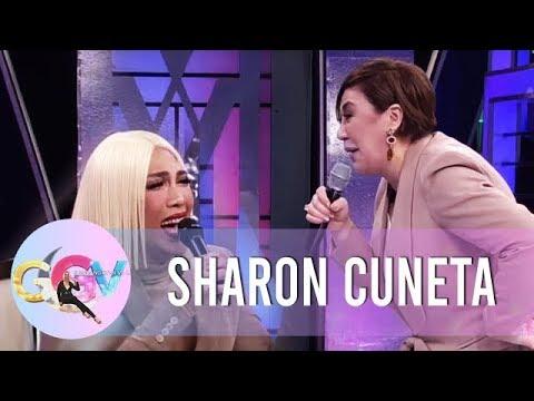 Vice Ganda laughs hard because of Sharon | GGV