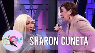 Vice Ganda laughs hard because of Sharon | GGV