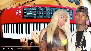 Tyga - Dip ft. Nicki Minaj - Piano Cover Video
