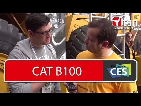 CAT B100 -- Outdoor-Feature-Phone setzt auf eine richtige Tastatur [CES 2014]