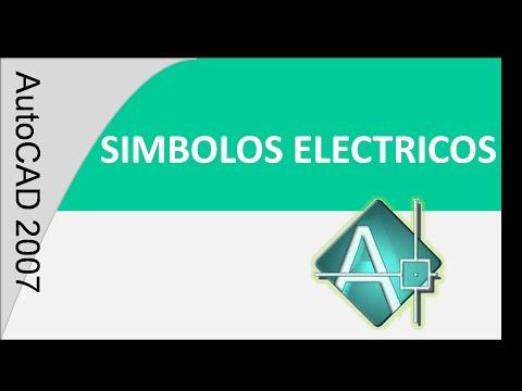 Autocad tutorial 3 hacer símbolos eléctricos(Básico)