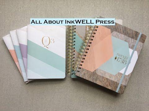 All About InkWELL Press!  Classic, Flex, Journals, & Desk Calendar { $10 OFF code }