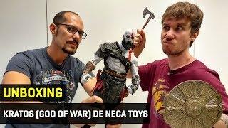 unboxing del kratos god of war de neca toys