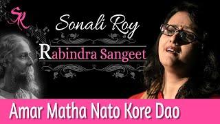 Amar Matha Nato Kore Dao He Tomar -Ek Sonali Sondha- Tara Musik