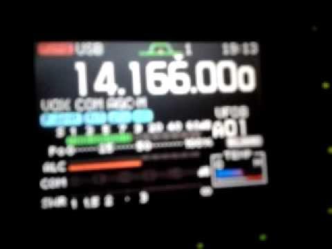 QSO 14Mhz con EA8CEX - EA8AVF - EA8CCS vs EB1DJ Movil (10-12-2011).mp4