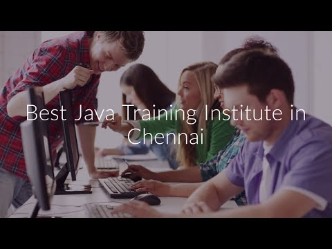 Best Java Training Institute In Chennai