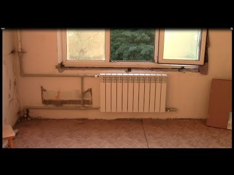 Замена радиатора в многоэтажном доме