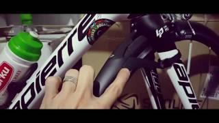 Doğadaki Bisikletli - Topeak Defender Yol Bisikleti Çamurluğu Montajı
