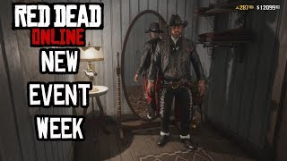 Red Dead Online New Event Week- New Clothing, Free Saddle & More