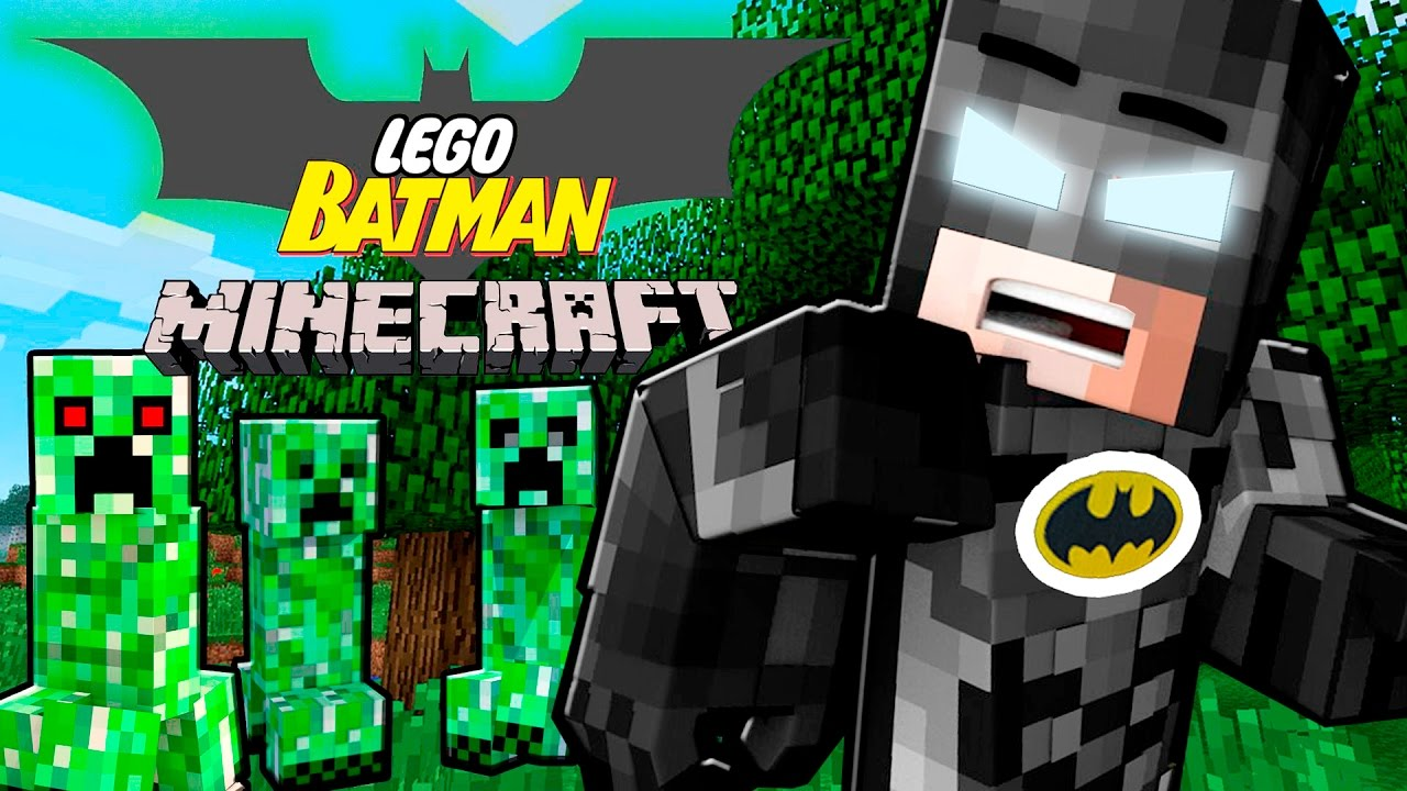 The Lego Batman Movie Meet Minecraft! Lego Batman vs Minecraft | Minecraft Lego Batman Roleplay