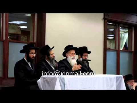 Beis Chaim Shea Rebbe Addressing The Darkei Chaim Chanukah Mesiba 5774