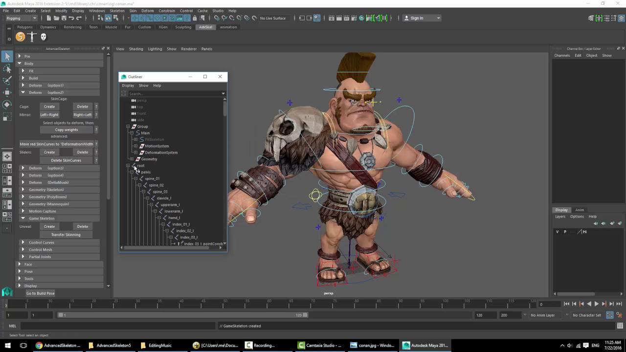 Advanced Skeleton tutorials – Truong CG Artist