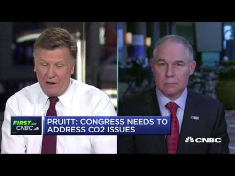 Pruitt: Nobody knows What Drives Climate Change.