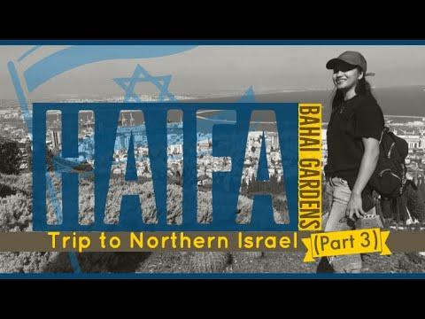 Haifa | Northern Israel (Part 3) | Bahai Gardens | Mareil's Travel Vlog