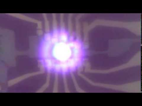 Bright visible light emission from graphene