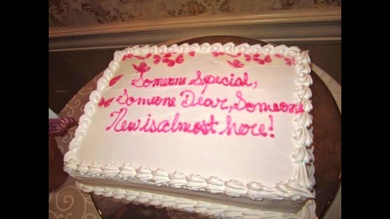 Elegant What To Write On Baby Shower Cake